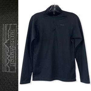 ❤️ Patagonia Kids Unisex Capilene Midweight Quarter Zip Base Layer Shirt 14 XL